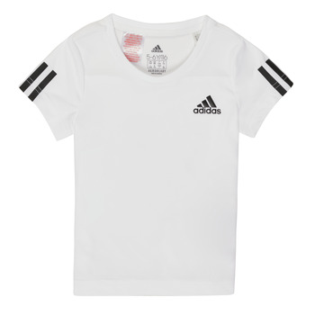 Vêtements Fille T-shirts manches courtes adidas Performance DOUMI Blanc