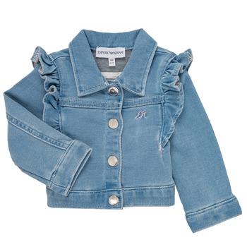 Vêtements Fille Vestes / Blazers Emporio Armani Aldric Bleu