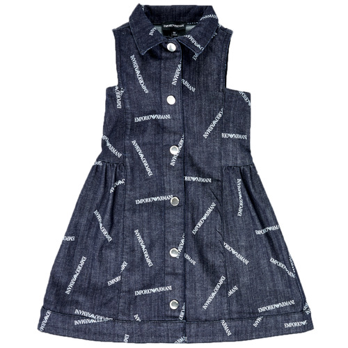 Vêtements Fille Robes courtes Emporio Armani Andy Bleu