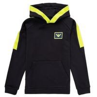 Vêtements Garçon Sweats Emporio Armani Abel Marine / Vert