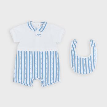 Vêtements Garçon Combinaisons / Salopettes Emporio Armani Adam Bleu