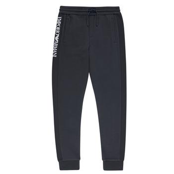 Vêtements Garçon Pantalons de survêtement Emporio Armani Anderson Marine