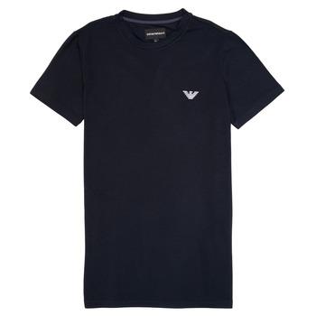 Vêtements Garçon T-shirts manches courtes Emporio Armani Benoit Marine