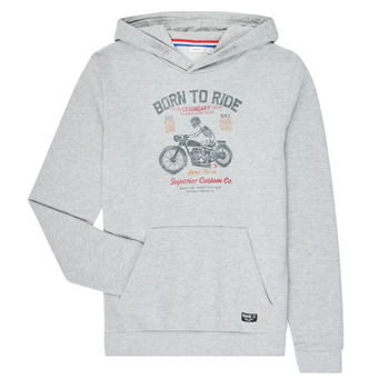 Vêtements Garçon Sweats Name it NKMTMOTORWALA Gris