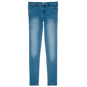 Vêtements Fille Jeans slim Name it NKF POLLY DNMTASIS Bleu