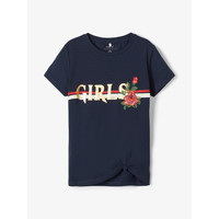 Vêtements Fille T-shirts manches courtes Name it NKFBARBRA Marine