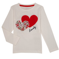 Vêtements Fille T-shirts manches longues Name it NMFBOSINE Rouge