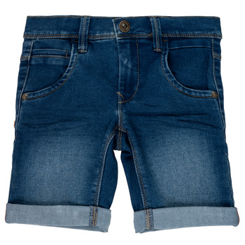 Vêtements Fille Shorts / Bermudas Name it NKMSOFUS Bleu