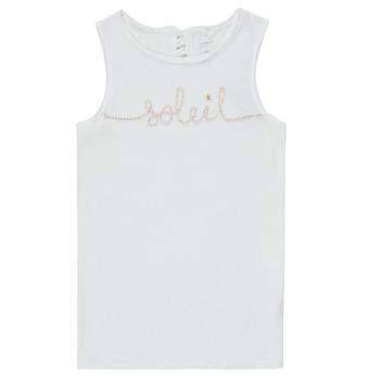 Vêtements Fille Débardeurs / T-shirts sans manche Name it NKFFAMILA Blanc