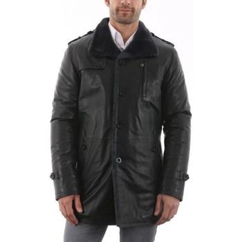Vêtements Homme Manteaux Giorgio Marvin Noir Noir Noir