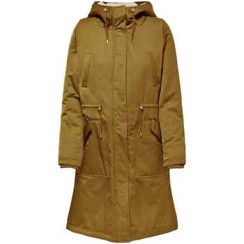 Vêtements Femme Parkas Only ONLTERESA LONG PARKA COAT beige
