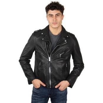Vêtements Femme Vestes en cuir / synthétiques Schott Blouson perfecto  en cuir ref_47534 Noir noir