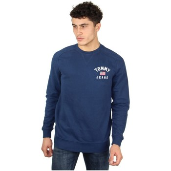 Vêtements Homme Pulls Tommy Jeans Pull Tommy Hilfiger ref_47425 Bleu Bleu