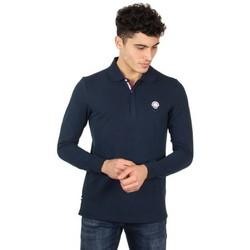 Vêtements Homme Polos manches longues Patrouille De France Polo manches longues  ref_47957 Marine bleu