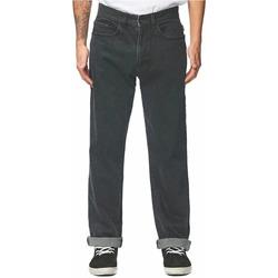 Vêtements Homme Jeans droit Globe GB01816020 Noir
