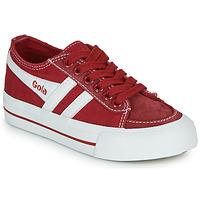 Chaussures Enfant Baskets basses Gola QUOTA II Rouge / blanc