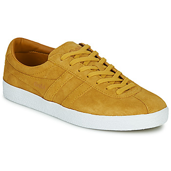 Chaussures Femme Baskets basses Gola TRAINER SUEDE Jaune / blanc
