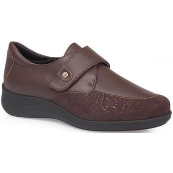 Chaussures Femme Derbies & Richelieu Calzamedi CHAUSSURES  ELASTIQUES DIABETIQUES BROWN