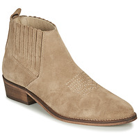 Chaussures Femme Bottines André MANA Taupe