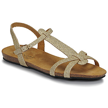 Chaussures Femme Sandales et Nu-pieds André BORA Doré