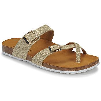 Chaussures Femme Sandales et Nu-pieds André REJANE Doré