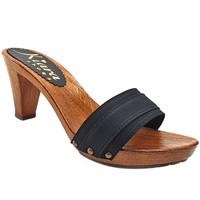 Chaussures Femme Mules Kiara Shoes K5101 Noir