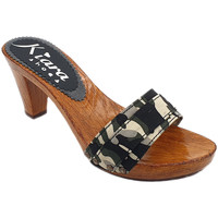 Chaussures Femme Mules Kiara Shoes K5101 Camouflage