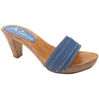 Chaussures Femme Mules Kiara Shoes K5101 Denim