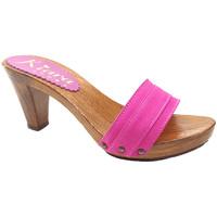 Chaussures Femme Mules Kiara Shoes K5101 Fuxia