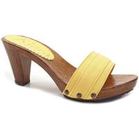 Chaussures Femme Mules Kiara Shoes K5101 Jaune
