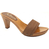 Chaussures Femme Mules Kiara Shoes K5101 Marron