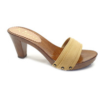 Chaussures Femme Mules Kiara Shoes K5101 Ocre