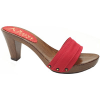 Chaussures Femme Mules Kiara Shoes K5101 Rouge