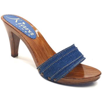 Chaussures Femme Mules Kiara Shoes K6101 Denim