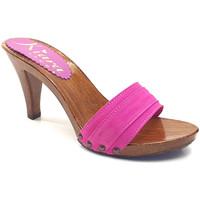 Chaussures Femme Mules Kiara Shoes K6101 Fuxia