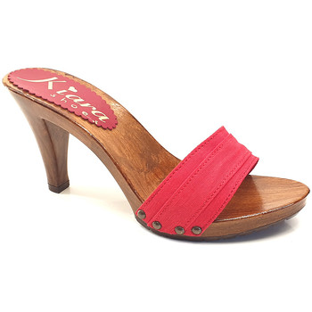 Chaussures Femme Mules Kiara Shoes K6101 Rouge