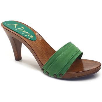 Chaussures Femme Mules Kiara Shoes K6101 Vert