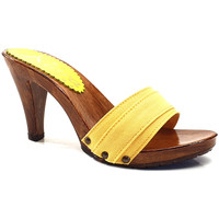 Chaussures Femme Mules Kiara Shoes K6101 Jaune