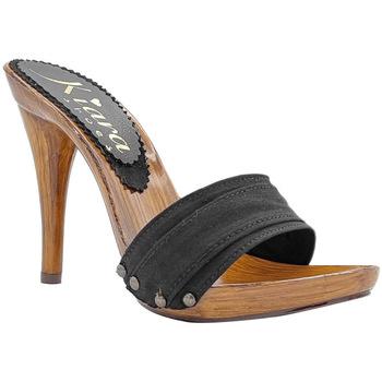 Chaussures Femme Mules Kiara Shoes KM7101 Noir