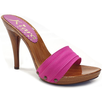 Chaussures Femme Mules Kiara Shoes KM7101 Fuxia
