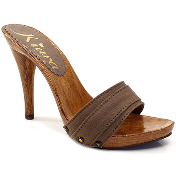 Chaussures Femme Mules Kiara Shoes KM7101 Marron