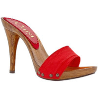 Chaussures Femme Mules Kiara Shoes KM7101 Rouge
