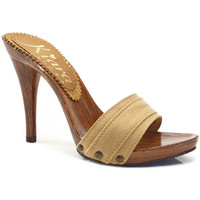Chaussures Femme Mules Kiara Shoes KM7101 Ocre