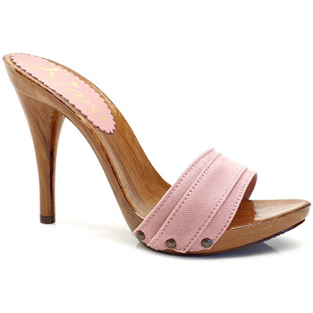 Chaussures Femme Mules Kiara Shoes KM7101 Rose