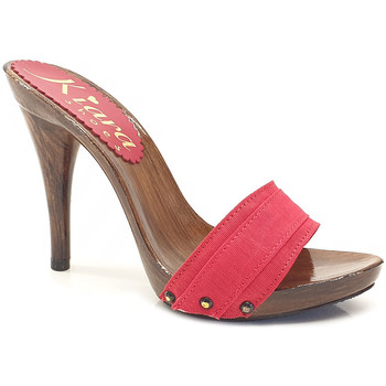 Chaussures Femme Mules Kiara Shoes KM7201 Rouge