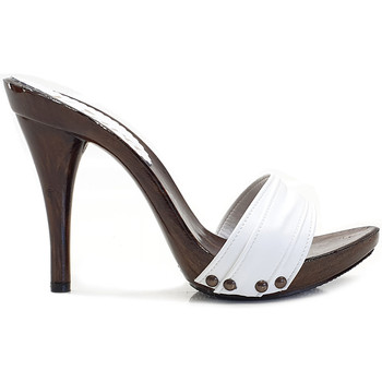 Chaussures Femme Mules Kiara Shoes KM7201 Blanc