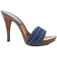 Chaussures Femme Mules Kiara Shoes KM7201 Denim