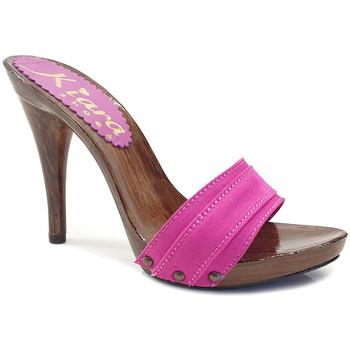 Chaussures Femme Mules Kiara Shoes KM7201 Fuxia
