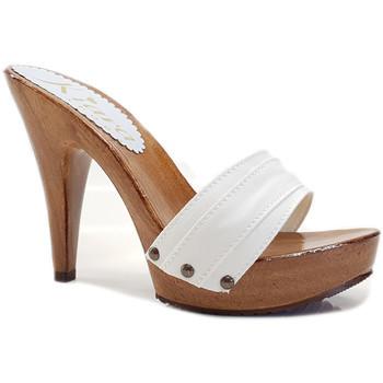 Chaussures Femme Mules Kiara Shoes K21101 Blanc