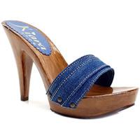 Chaussures Femme Mules Kiara Shoes K21101 Denim
